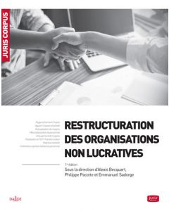 Restructuration des organisations non lucratives