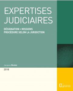 Expertises judiciaires 2018
