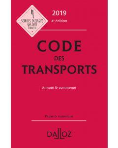 Code des transports 2019, annoté & commenté