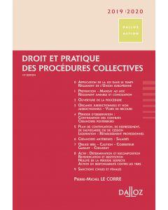 Droit et pratique des procédures collectives 2019/2020