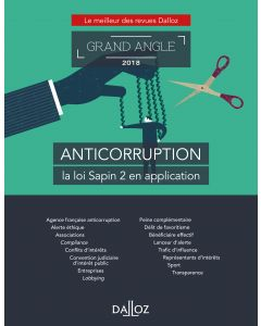 Anticorruption, la loi Sapin 2 en application