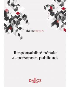 Responsabilité pénale des personnes publiques