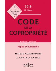 Code de la copropriété 2019, Annoté & commenté