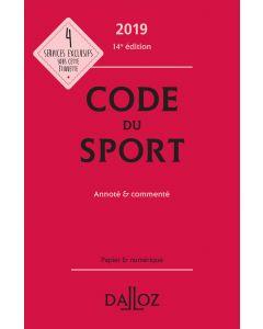 Code du sport 2019, annoté et commenté