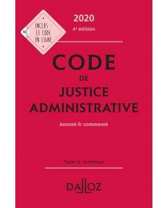 Code de justice administrative 2020, annoté & commenté