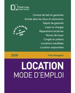 Location mode d'emploi 2019