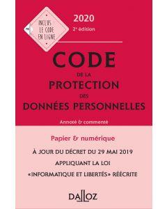 Code de la protection des données personnelles 2020