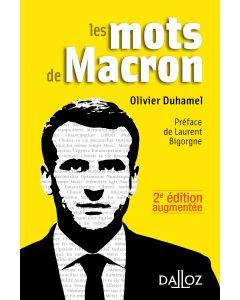 Les mots de Macron