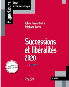 Successions et libéralités 2020