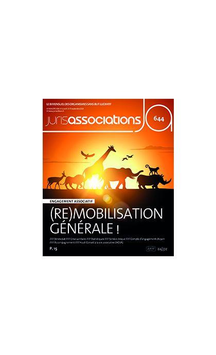 Juris Associations (Abonnement 2022, fin d'année 2021 offerte !)
