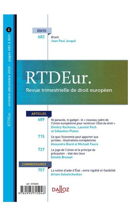 RTD Eur.