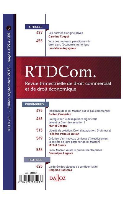 RTD Com. (Abonnement 2021)
