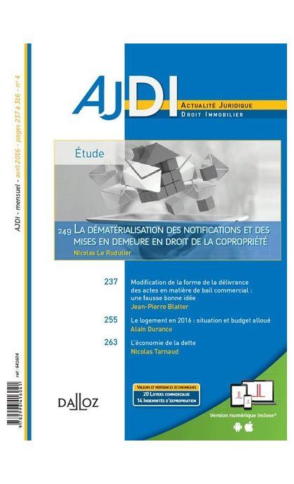 AJDI (Abonnement 2021)