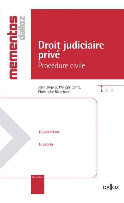 Droit judiciaire privé. Procédure civile
