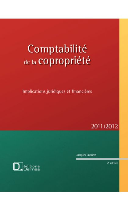 Comptabilité de la copropriété 2011/2012
