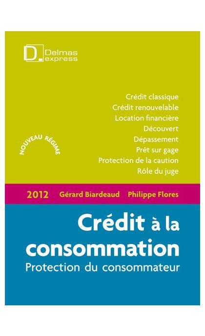 Crédit à la consommation 2012