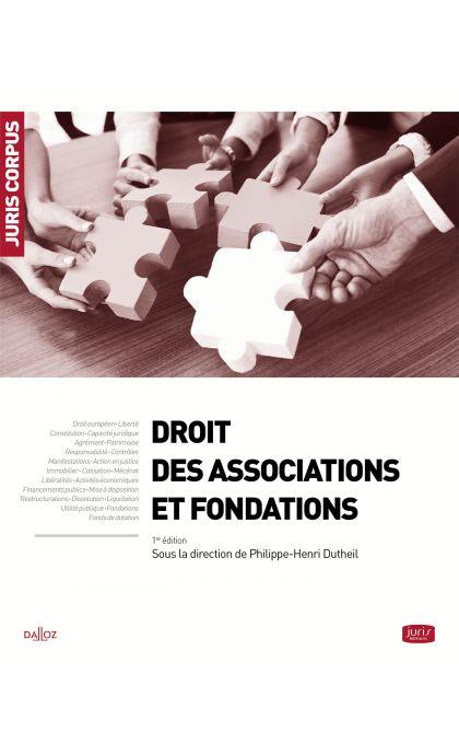 Droit des associations et fondations