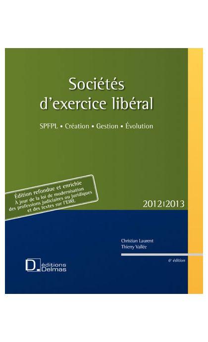 Sociétés d'exercice libéral 2012/2013