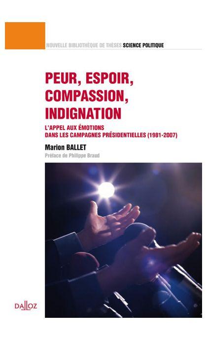 Peur, espoir, compassion, indignation Volume 21