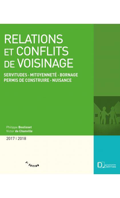 Relations et conflits de voisinage 2017/2018