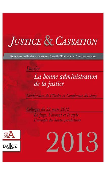 Justice & Cassation 2013