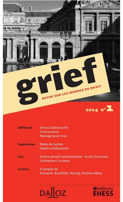 Grief. Revue sur les mondes du droit