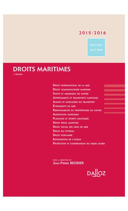 Droits maritimes 2015/2016