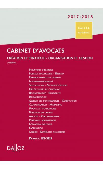 Cabinet d'avocats 2017/2018