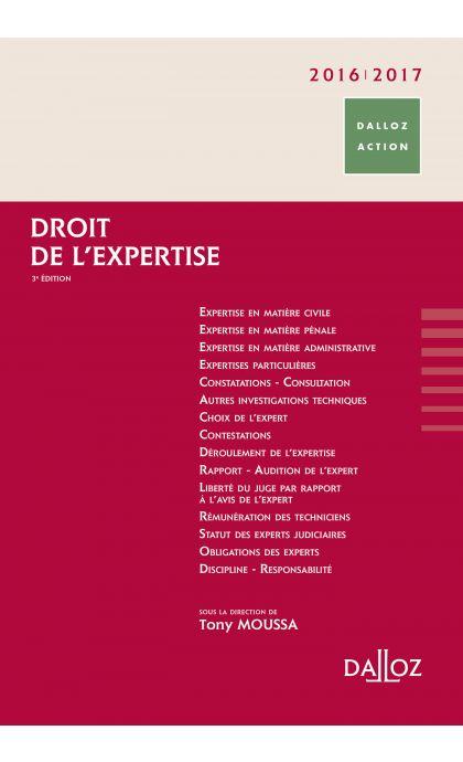Droit de l'expertise 2016/2017