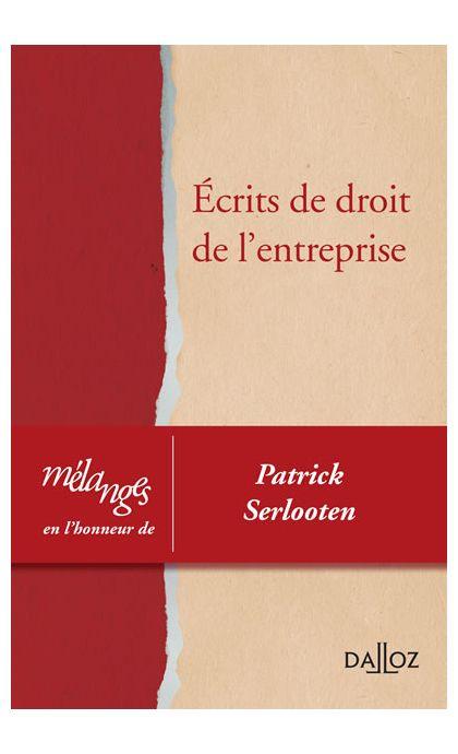 Mélanges en l'honneur de Patrick Serlooten/POD