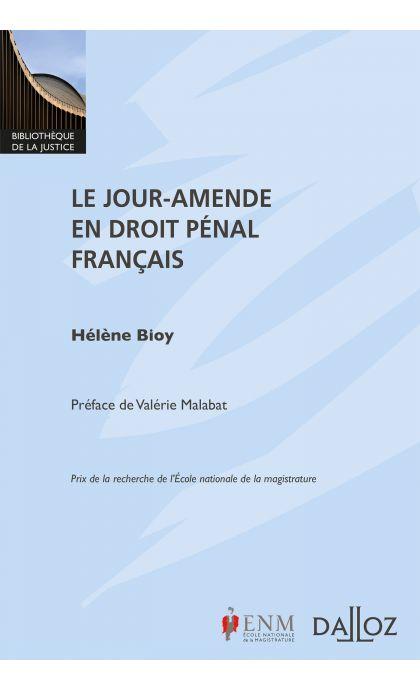 Le jour-amende en droit pénal français