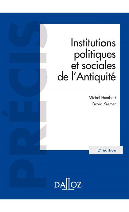 Institutions politiques et sociales de l'Antiquité