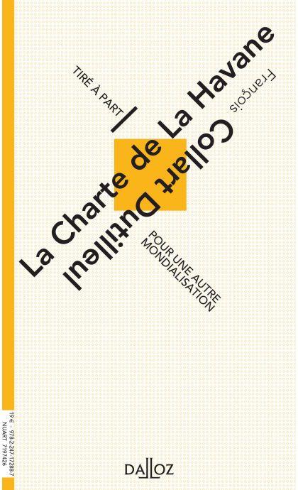 La Charte de la Havane