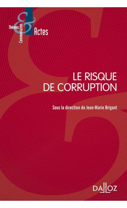 Le risque de corruption
