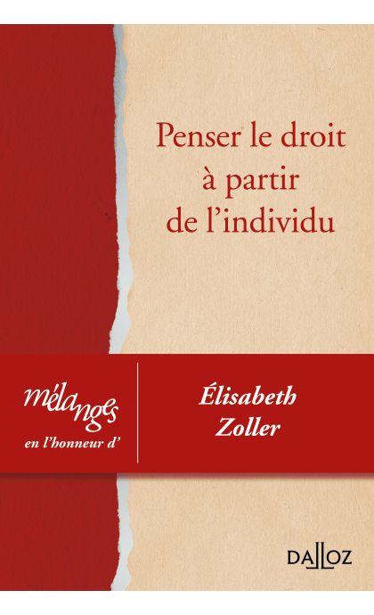 Mélanges en l'honneur d'Elisabeth Zoller