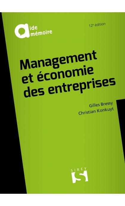 Management et économie des entreprises
