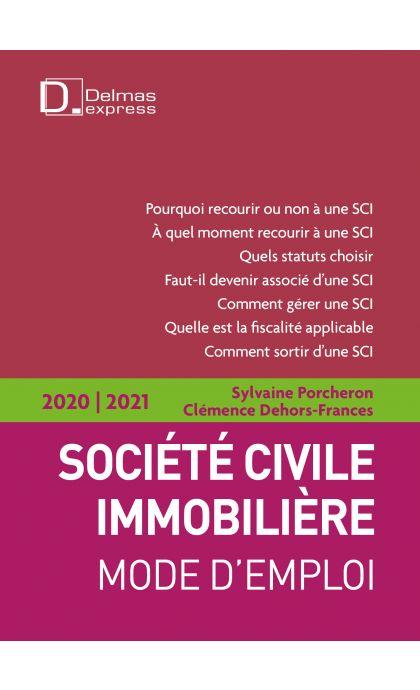 Société civile immobilière 2019/20