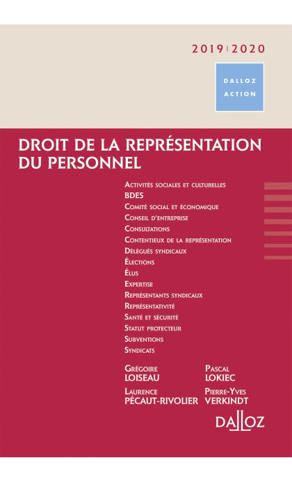 Droit de la représentation du personnel