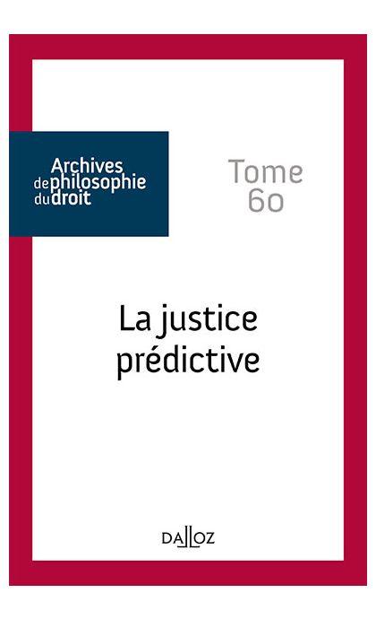 La justice prédictive