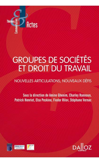 Groupes de sociétés et droit du travail