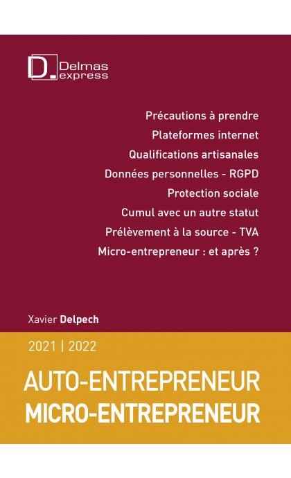 Micro-entrepreneur Auto-entrepreneur 2021/22