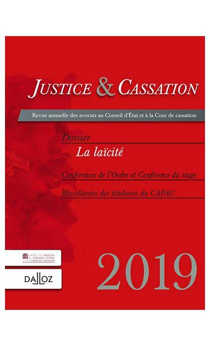 Justice et cassation 2019