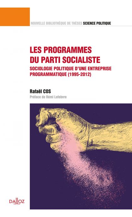 Les programmes du parti socialiste. Volume 41