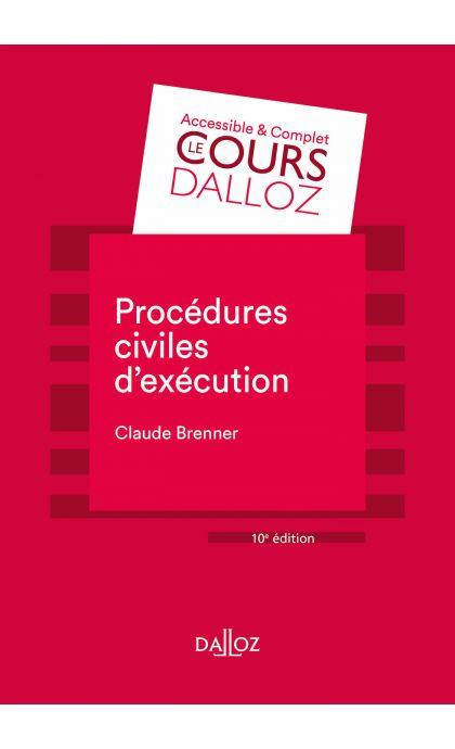 Procédures civiles d'exécution