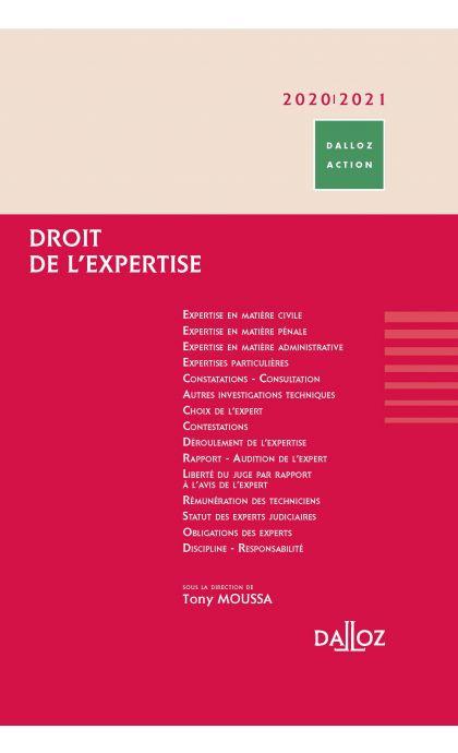 Droit de l'expertise 2020/2021