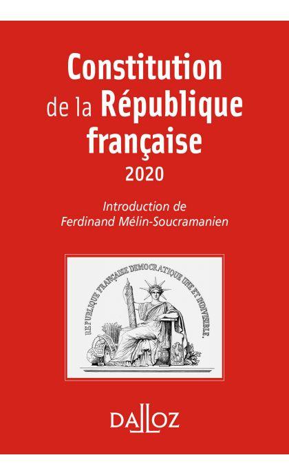 Constitution de la République française. 2020