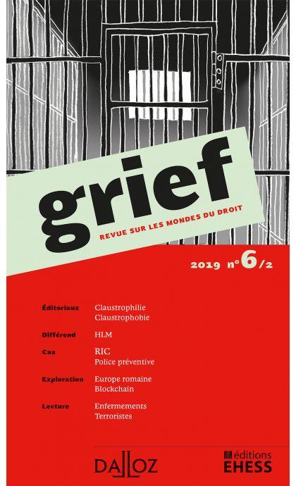 Grief. Revue sur les mondes du droit 2019 n°6/2