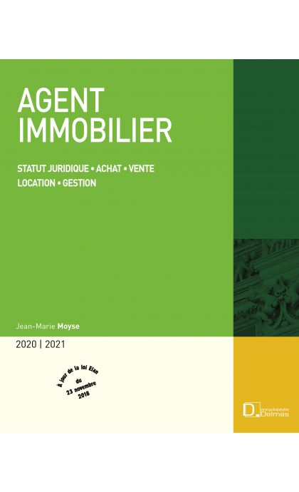 Agent immobilier 2020/21