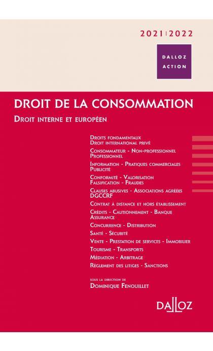 Droit de la consommation 2021/2022