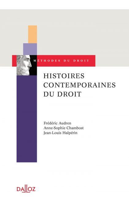 Histoires contemporaines du droit